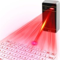 Claviers infrarouges Prix-MINI Téléphone portable Bluetooth sans fil Laser Laser IPAD Flatbed Magic Infrarouge Virtual Projection Keyboard