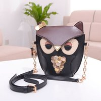 abs hit - 2016 new tide package cute retro hit owl female bag bag single shoulder mini bag factory direct sales
