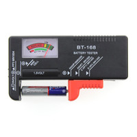 aa electrical wholesalers - BT168 Battery Tester BT Universal Battery Checker LCD Digital Load Test Volt Checker Power Level of All V V AA AAA Batteries