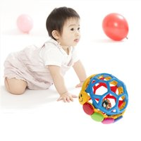 bendy toys - Babe Einstein Buzz Ball Bendy Baby Walker Rattles Prewalker Bouncing Ball Toddlers Fun Multicolor Activity Educational Toys
