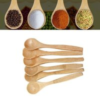 Wholesale 5 Set Bamboo Utensil Kitchen Wooden Cooking Tools Spoon Spatula