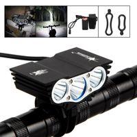 Wholesale Solarstorm Waterproof U2 Bicycle Light Lm XM L LED Mode Bike Front HeadLight V mAh Battery Pack BLL_10C