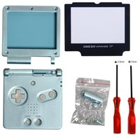 advance parts - iMinker Full Parts Housing Shell Cover Replacement Part Triwing Phillips Screwdriver for Nintendo Gameboy Advance SP GBA SP