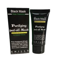 Moisturising best acne mask - New Best Selling SHILLS Deep Cleansing purifying peel off Black mud Facail face masks Remove blackhead facial mask ml