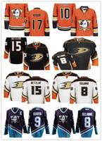 Wholesale 2017 Anaheim Ducks Alternate Hockey Jerseys Men Teemu Selanne Paul Kariya Corey Perry Ryan Kesler Ryan Getzlaf Jersey stitched