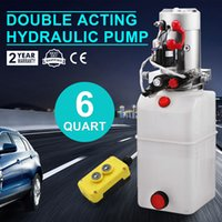 act packs - 2200W Double Acting Hydraulic Pump Power Pack with Controller VDC Quart