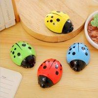 Wholesale Kawaii Color Ladybug design pencil sharpener Students gift prize office school Stationery supplies