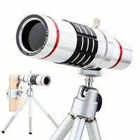 Wholesale NEW x lentes Universal Zoom Camera Phone Lens Optical Telescope Telephoto Lenses With Tripod For Huawei Samsung iPhone Lens