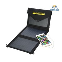 Wholesale SC W W Monocrystalline USB V admirable Top Quality Mobile Solar Charger packing by gift box