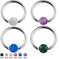 Wholesale Nose Ring Studs Surgical Steel Helix Piercing Ear Cartilage Tragus Earrings Labret Body Jewelry