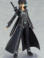 Wholesale figure Doll model Kirigaya Kazuto Figma Sword Art Online movable
