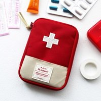 Wholesale useful Piece Portable Outdoor Camping Home First Aid Emergency Medical Kit Survival bag Hunt Travel Bag