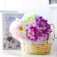 Wholesale 7pcs Colors Rosemary Artificial Flowers Birthday Party Supplies Wedding Decorations Home Party Decorative Flowers