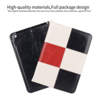 Wholesale High Quality Material Leather Case for iPad Mini with Hand Wristband Wallet Card Slot Case for ipad