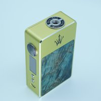 Wholesale Original model woody vape X200 stabilized wood box mod e cig W with new GENE chip made from china