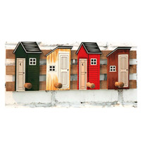 Wholesale Wall hook hanger wooden house wall decoration home decor
