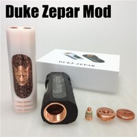 big revolvers - 2016 Newest Duke Zepar Mod E cigarette mod Battery Mechanical box Big Smoke SecKill Revolver AV Able Seiko DHL free