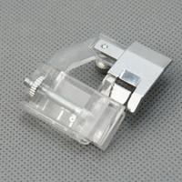 Wholesale Home Snap on Adjustable Bias Binder Presser Foot Feet for Sewing Machines New Sewing Machine Bias Binder Foo