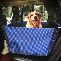 Wholesale 50 CM Waterproof and washable pet car seat cover Folding Dog pet car seat cover