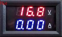 DC 0-100V 10A Цифровой вольтметр Амперметр Двойной дисплей Индикатор напряжения Цифровой измеритель амперметра вольтметра 0.28