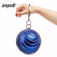 Wholesale AEQUEEN Evening Clutch Bags Fashion Luxury Round Ball Day Clutches Bag Wedding Bags And Evenng Bag Bolsos