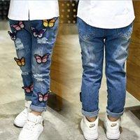Wholesale unids la male clothing girls spring children s jeans children s clothing girls pants full length pants