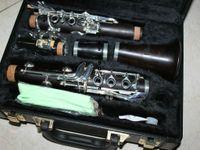 Wholesale Woodwind Ebony KEY Bb Clarinet Silver KEY BLISSFROM China Factory OEM DIY