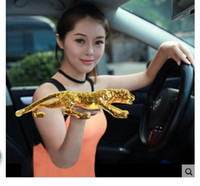 Metal automotive business - 16 CM Money Leopard large living room TV Leopard car decoration Zhaocai creative automotive car supplies car accessor