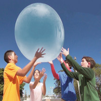 Wholesale Super Wubble Bubble Ball Without Pump The Amazing Inflatable Rubber Wubble Bubble Ball Big Bubbles Elastic Ball Out Door Ball Toys D339