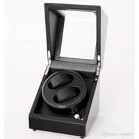 automatic wrist watch winder - Luxury multiple layers of carbon fiber Watch Winder Box Wooden Battery Power Automatic Wrist Watch Perfect Winders Box