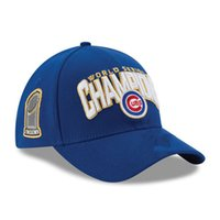 Wholesale Adjustable Chicago Cubs Hats FIFTY MLB World Serie Champions Caps Field Snapbacks Locker Room Hats Patch Fitted Baseball Caps up