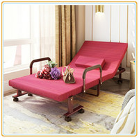 Wholesale Hotel Classic Folding Extra Bed with Degree Wheels cm