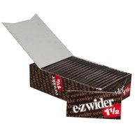 Cheap 1 1 2 e-zwider Cigarette Rolling Papers Natural Unrefine EZWIDER Rolling Pappers for Smoking Dry Herbal 78mm X 70mm Tobacco Rolling Papers