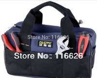 Wholesale New cheap electrician tool bags small organizer toolbox multifuntional waterproof without tools for outdoor Blue