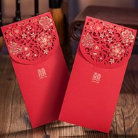 Wholesale 30pcs of Chinese lucky red envelope red packets pocket money envelope for chinese new year and wedding