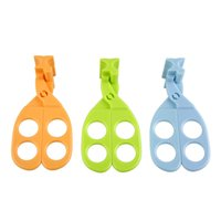 Wholesale New Multi Functional Heath Food Cutter Baby Consisting Of Scissors Crush Universal Scissors Infant Care Tools