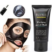Wholesale SHILLS Deep Cleansing Black Mask Pore Cleaner ml Purifying Peel off Mask Blackhead removers Facial Mask Free DHL Shipping