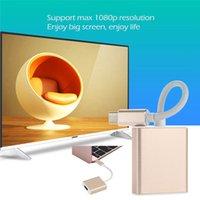 aluminum futures - USB C HDMI Adapter USB Mini Type C to HDMI Converter Aluminum Case OTG P Adapter Cable For Macbook Future USB Hub Type C Device