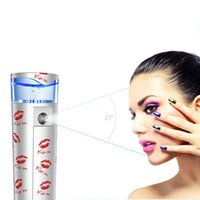 Wholesale KISS ME K9 Nano Ionic Facial Steamer USB Charging Nano Mist Spray Handy Atomization Mister Face Facial Moisturizing