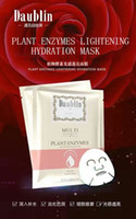 Wholesale DAUBLIN PLANT ENZYME LIGHT SENSE OF CLEAR WHITENING MASK CONTAIN NATURAL MOISTURIZING FACTOR COMPOUND AMINO ACIDS EXEMPT POSTAGE