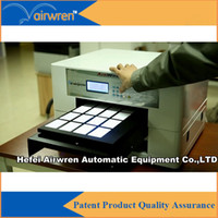 Wholesale OEM uv led phone case printing machine a3 uv led business card printing machine with d effect for AR led mini4
