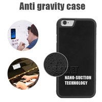 anti gravity technology - For iPhone Anti gravity Case Nano Technology TPU Case Sticky Glass Back Cover Case For Iphone S Galaxy S7 S6 Edge with OPP Package