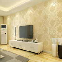 Anti Static absorbing paper - 3d European Simple Living Room Wallpaper Bedroom Sofa TV Background of Wall Paper Roll Non woven Wallpaper