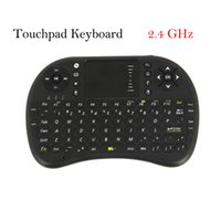 Wholesale UK Warehouse GHz Portable Wireless QWERTY Keyboard with Touchpad Keyboard Mouse Combo remote control