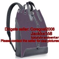 backpack trimmer - 2016 travel bag womens MENS N41612 JOSH EXPLORER backpack School book bag leather trim SIRIUS PULSE M51106 M40527 M40567
