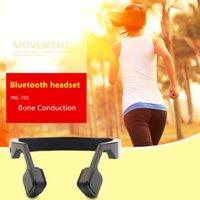 Wholesale YKL Bone Conduction Design Wireless Bluetooth Headset Sport Running Jogging Noise Cancelling Headphones Black