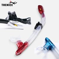 Wholesale 5 Colors High Quality Snorkeling Diving Swimming Gear Scuba Snorkel Dive Breath Equipment Full Dry Breathing Tube