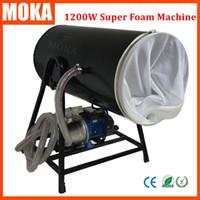 1200W máquina de espuma de la etapa de luz gran partido máquina de la espuma de la caída máquina del copo de nieve del cryo máquina de la espuma para el equipo grande de la etapa del partido