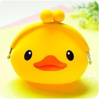 Wholesale New Fashion Lovely Kawaii Candy Color Cartoon Animal Women Girls Multicolor Jelly Silicone Coin Bag Kid Gift