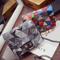 bags xia - VEEVAN the new tide of chun xia season female bag bump color chain mini bag single shoulder bag